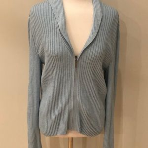 NWOT St John Sport Cardigan Sweater Zip Up